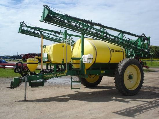 2001 Summers Ultimate - 90 ft, 1500 gal, Chem Tank, Rinse Tank Sprayer-Pull Type For Sale