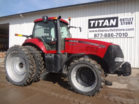 2011 Case IH MX225 CVT - 950 hrs, RTK AutoSteer, Cab Susp Tractor For Sale
