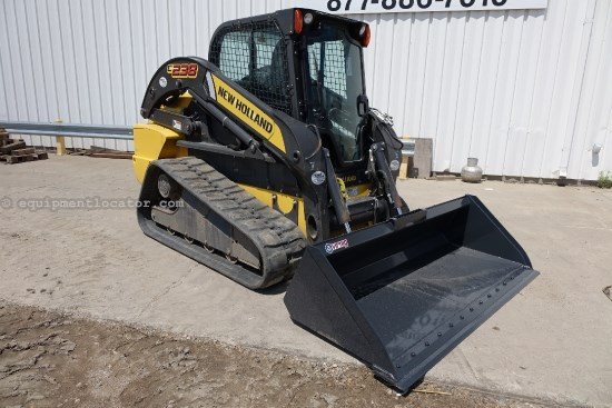 2012 New Holland C238, Tracks, Hand & Foot Cntrls, Hyd Q/C, New Bkt Skid Steer-Track For Sale