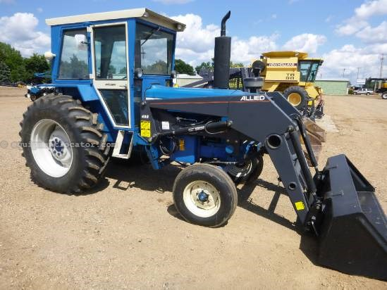 Tractor Data Ford 7600 : Ford tractor for sale at equipmentlocator