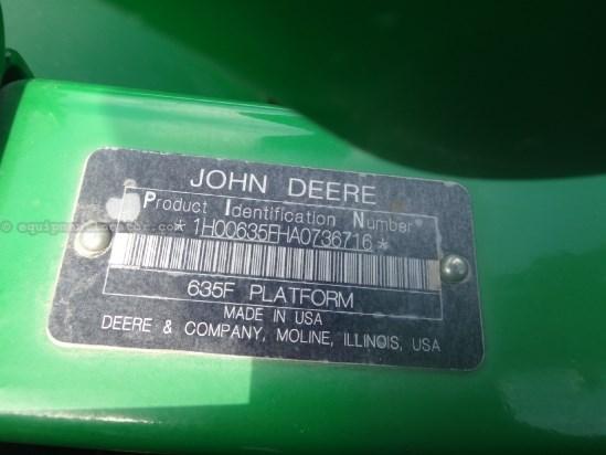 2010 John Deere 635F - Contour (9660,9760,9860,9670,9770,9870) Header-Flex For Sale