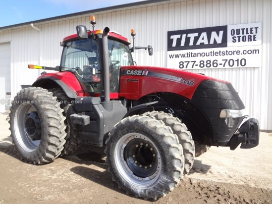 2012 Case IH Magnum MX340 - 681 hrs, Frt & Cab Susp, Creeper Tractor For Sale