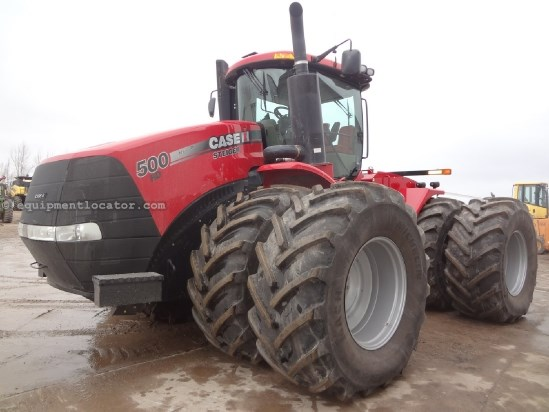 2012 Case IH Steiger STX500-457 hrs, AutoSteer, 800R38, 360 HID Tractor For Sale