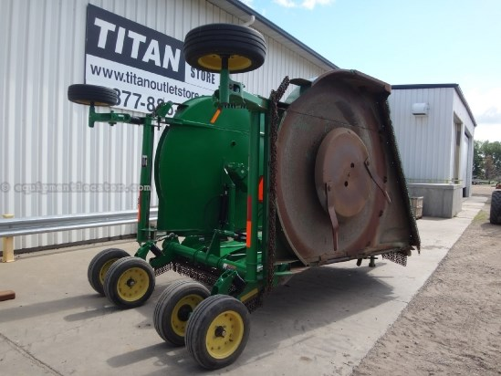 2006 John Deere HX20 - 20 ft, 1000 pto, Air Plane Tires Rotary Cutter For Sale