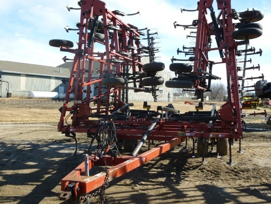 2005 Case IH TMII - 54 ft, New Shovels, 6 in, 4 bar harrow Field Cultivator For Sale