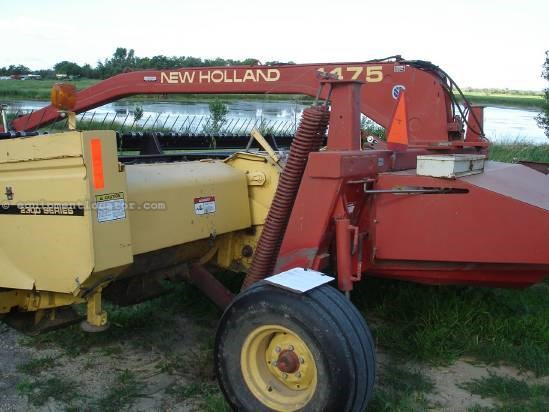 1998 New Holland 1475 - 16 ft, Rubber Rollers, 1000 pto Mower Conditioner For Sale