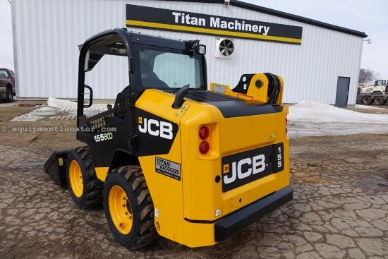 2013 JCB 155, ROPS, Hyd Cplr, 2-Spd Skid Steer For Sale