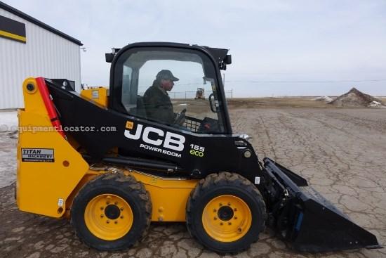 2013 JCB 155, ROPS, Hyd Cplr, 2-Spd Skid Steer For Sale