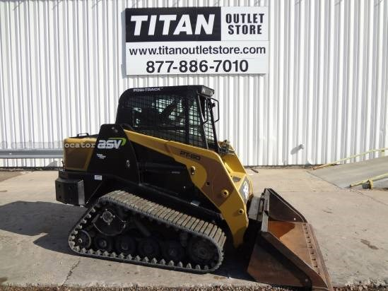 2008 ASV PT60 - 554 hrs, 60 HP, Pilot Controls Skid Steer-Track For Sale