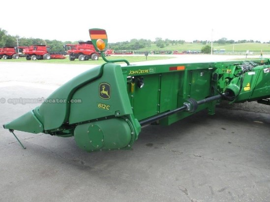2012 John Deere 612C, 12R30, Contour, 9760/9860/9770/9870 Header-Corn For Sale