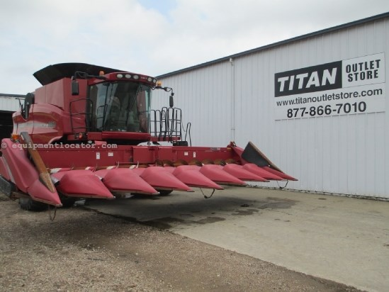 2010 Case IH 3408,8R36, New Knives, HHC, 6088/7010/7088/7120 Header-Corn For Sale