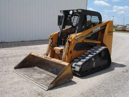 2008 Case 440CTL, 522 Hrs, Hand Controls, ROPS, Hyd Coupler Skid Steer-Track For Sale