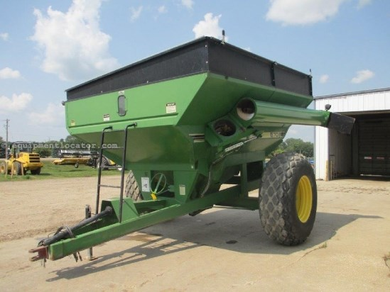 1991 Brent 670, 650 Bu, 1000 PTO, Hyd Auger Fold, Tarp Grain Cart For Sale