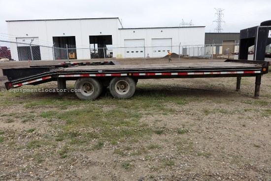 1995 Felling FT24, Gooseneck Trailer Utility Trailer For Sale