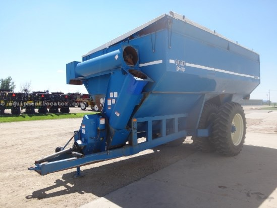 1998 Kinze 1040 - 1000 bu, 18 inch auger, Duals, Tarp Grain Cart For Sale