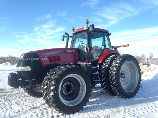2012 Case IH MX225 CVT - 785 hrs, F&C Susp, 5 hyd, AutoSteer Tractor For Sale
