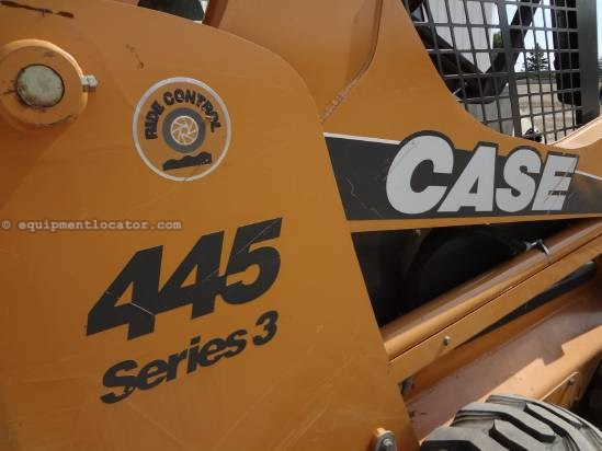 2010 Case 445 - 1437 hrs, Hyd Coupler Skid Steer For Sale