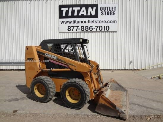 2002 Case 70XT - 2844 hrs, Hand Controls, Bucket  Skid Steer For Sale
