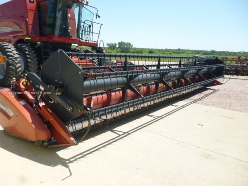 2007 Case IH 2020, 30', 6088/7088, Dual Knife, Poly,Full Finger Header-Flex For Sale