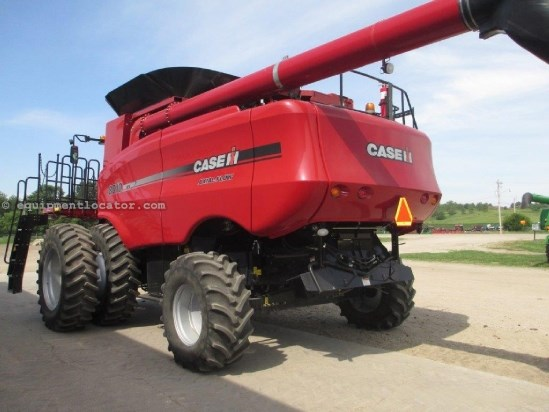 2008 Case IH 8010, UPTIME READy!, 885 Sep Hr, FT, RT Combine For Sale