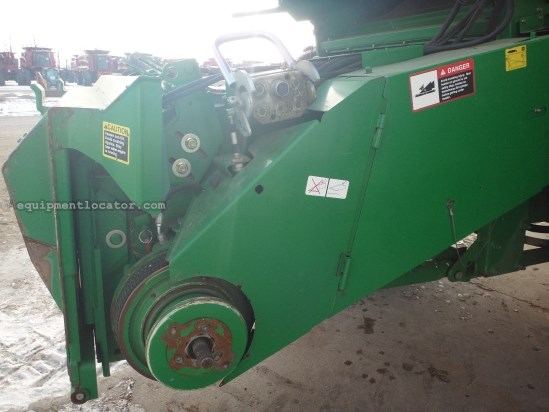 2006 John Deere 9760, 1588 Sep Hr, Rotary Thrashing, AHH, Chopper Combine For Sale