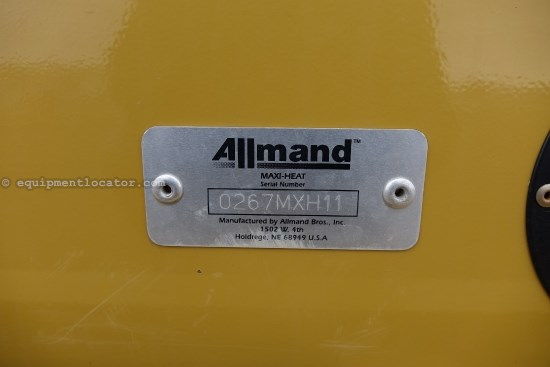2011 Allmand  MH1000 HEATER W/TRAILER Heater For Sale