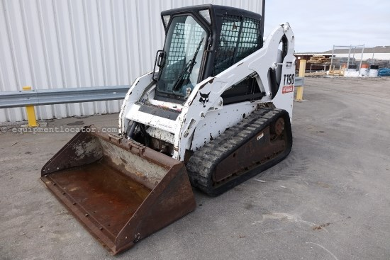 2006 Bobcat T190, Cab/Heat, Hyd Cplr, 2-Spd Skid Steer-Track For Sale
