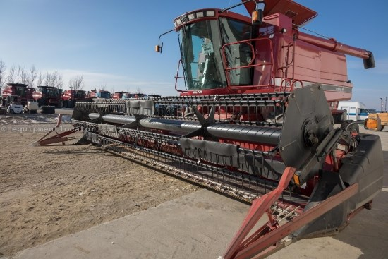 1998 Case IH 1020, 25 Ft, Full Finger, 2188/2366/2388 Header-Flex For Sale