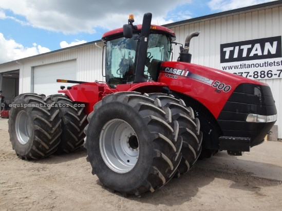 2011 Case IH Steiger 500HD - 1400 hrs, 800R38, Cab Susp,  Tractor For Sale