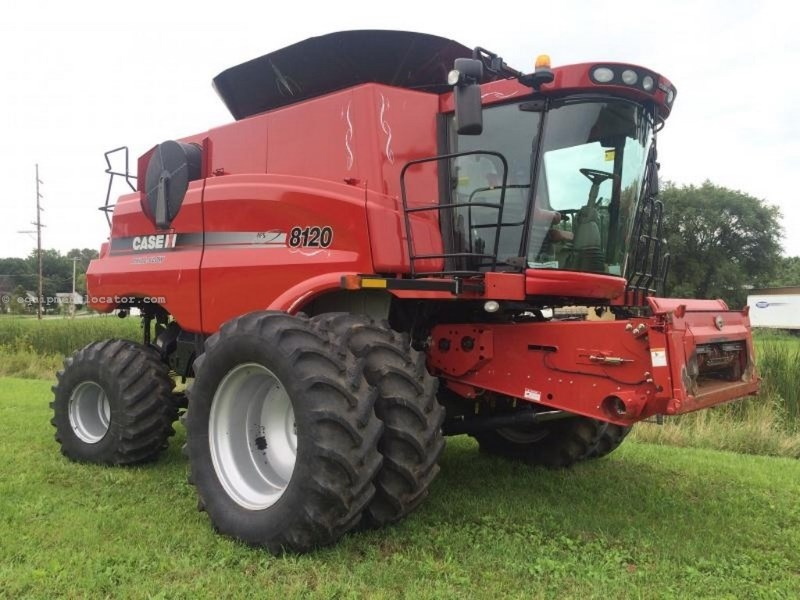 2011 Case IH 8120, 1215 Sep Hr, Lux Cab, RT, FT, HID Lights Combine For Sale