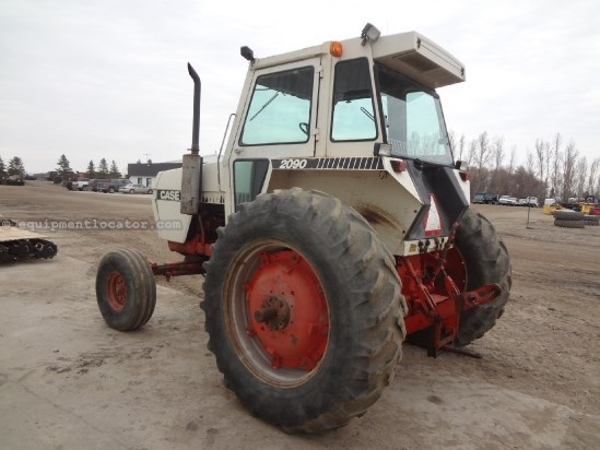 1978 Case 2090 - 7524 hrs, 540 pto, 18.4-38 Singles, 3pt Tractor For Sale
