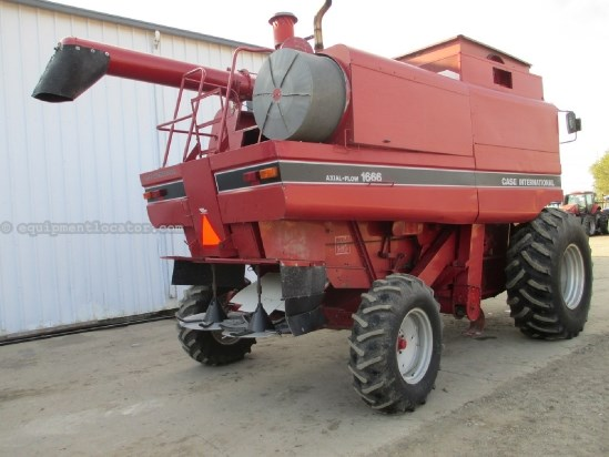 1993 Case IH 1666,4298 Hrs, Rock Trap, Chopper, Spreader Combine For Sale