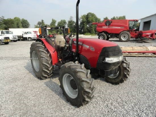 Tractor For Sale:  2010 Case IH FC75, 62 HP, 651 Est Hours, 32999.00 USD