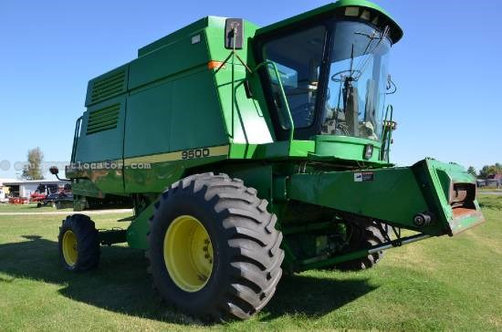 Combine For Sale:  1995 John Deere 9500, 4053 Est Hours, 35999.00 USD