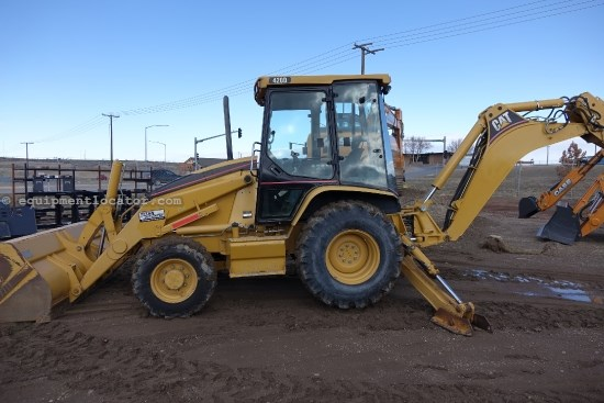 2004 Caterpillar 420D, 4x4, E-Hoe Loader Backhoe For Sale