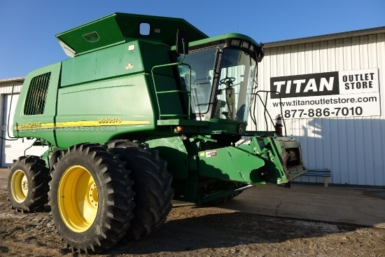2004 John Deere 9660, UPTIME Ready!, 1905 Sep Hr, RT, Contour, HID Combine For Sale