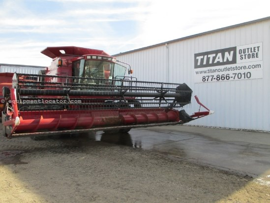 1999 Case IH 1020, 25',HHC, Fits 1688/2166/2188/2366/2388 Header-Flex For Sale