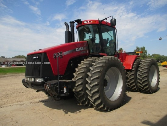 2011 Case IH STX535, 1116 Hrs, Deluxe Cab, 5 Remotes Tractor For Sale