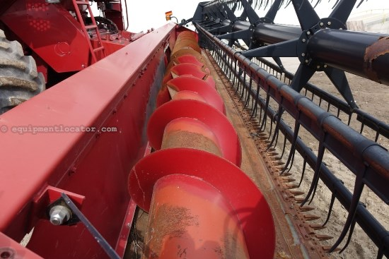 2001 Case IH 1020, 30Ft, Dual Drive, Poly, 1688/2188/2366/2388 Header-Flex For Sale