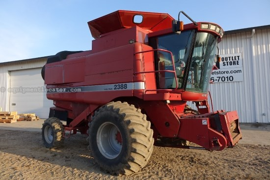 1998 Case IH 2388,3242 Sep Hr,Spec Rotor,Bin Ext,RT,FT,Dlx Cab  Combine For Sale
