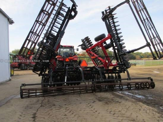 2010 Case IH RMX330, 34', Basket Harrow, Cushion Gang Disk Harrow For Sale
