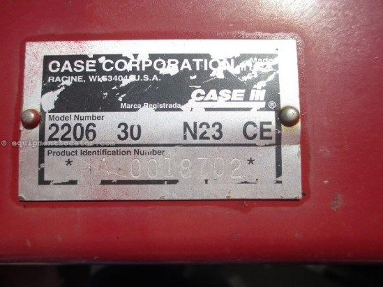 2003 Case IH 2206, 6R30, Knife Rolls, 5088/6088/5130/6130 Header-Corn For Sale