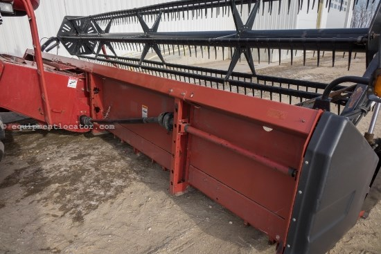1996 Case IH 1020, 25 Ft, Full Finger, 2188/2366/2388 Header-Flex For Sale