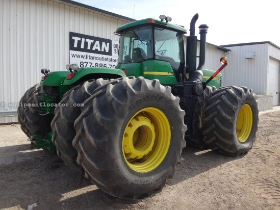 2004 John Deere 9620, DIFF LOCK, FULL WEIGHT PKG, 800/38 DUALS Tractor For Sale