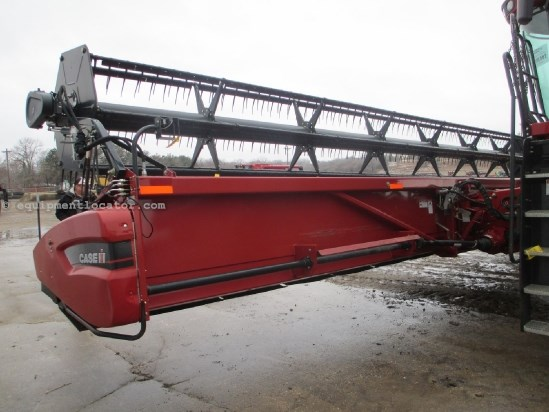 2007 Case IH 2020, 35', Full finger Auger, 7010/8010/7120/8120 Header-Flex For Sale
