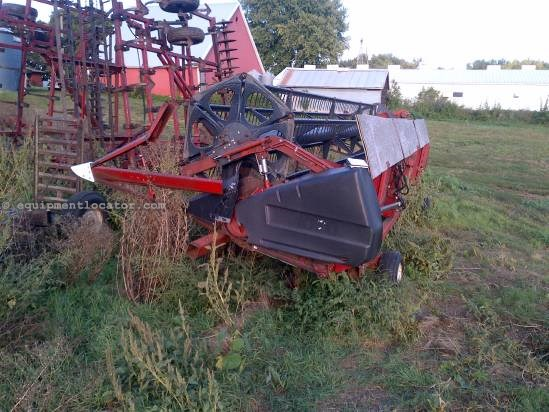 1992 Case IH 1020, 25',2188/2366/2388,Sgl Knife,Plastic Finger Header-Flex For Sale