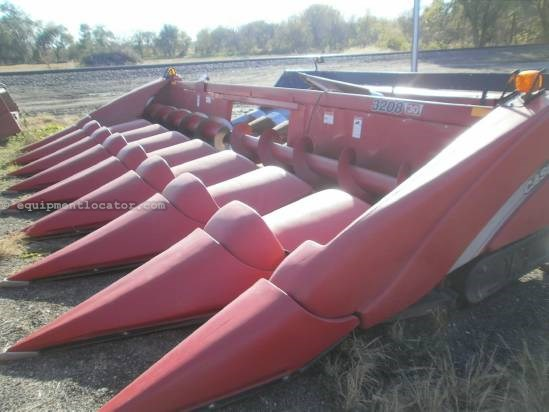 2012 Case IH 3208, AHC, Hyd Strippers, 1680/2166/2366/2388 Header-Corn For Sale