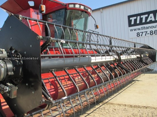 2002 Case IH 1020,25', FT, Air Reel, 1688/2166/2188/2366/2388 Header-Flex For Sale