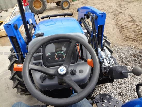 2013 New Holland WORKMASTER 55 - 95 hrs, Loader, ROPS Tractor For Sale