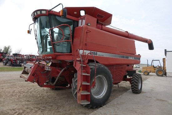 1996 Case IH 2188, 2932 Sep Hr, Chopper, Chaffer, Bin Ext. Combine For Sale